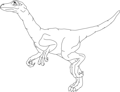 Dinosaur coloring pages velociraptor costume ~ Free kids Dinosaur Clipart | Dinosaur Pictures