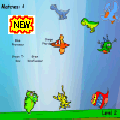 Dinosaur Drag and Drop Game