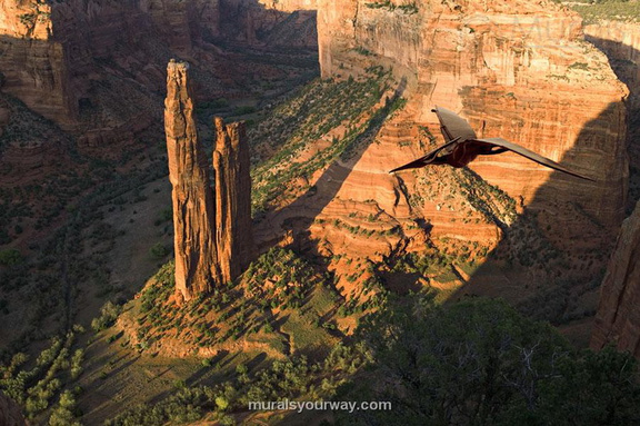Pterodactyl over the Grand Canyon