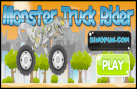 Dinosaur Monster Truck